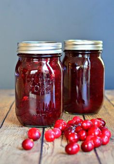Homemade cranberry relish for the holidays.  #cranberry #canning #recipes