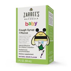 Zarbee's Naturals Baby Cough Syrup + Mucus Reducer safely calms coughs and soothes irritated throats. Shop Zarbee's baby cough syrup at Pharmaca. Allergy Remedies, Cough Remedies, Baby Cough, Sick Baby, Cough Syrup, Kids Health, Baby Health, Drug Free, Ways To Relax