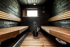 35 The Best Home Sauna Design Ideas You Definitely Like - No matter what you're shopping for, it helps to know all of your options. A home sauna is certainly no different. There are at least different options. Sauna House, Sauna Room, Basement Sauna, Saunas, Sauna Kits, Sauna Design, Outdoor Sauna, Spa Rooms, Beach Cottage Style