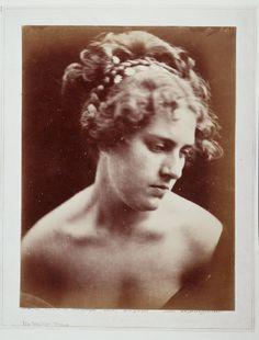 Julia Margaret Cameron - Vectis, 1868