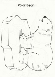snow bears coloring pages - photo#25