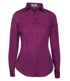 fitted silk shirts ladies - Google Search