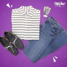Sorprende con este outfit #Mossimo a donde vayas.