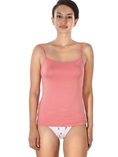 Shyle Pink Waist Length Camisole