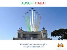 2 Giugno - AUGURI ITALIA! BAMBINO - Il dentino magico #2Giugno #FestaDellaRepubblica #Bambino #DentinoMagico
