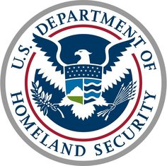 A March 2017 photo shows the seal of the US Department of Homeland Security in the US Customs and Border Protection Press Room at the Reagan Building in Washington, DC. Drones, Us Customs, Logo Luxury, Security Logo, Public Security, Airport Security, Social Security, Emergency Management, Homeland