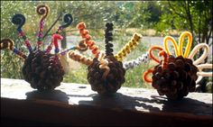 Image detail for -Turkey Pine Cone Craft : Multiply Delicious- All About the Kids