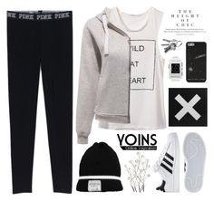 """""""Yoins 3"""" by alexandra-provenzano ❤ liked on Polyvore featuring Universal Lighting and Decor, adidas, Pebble and yoins"""