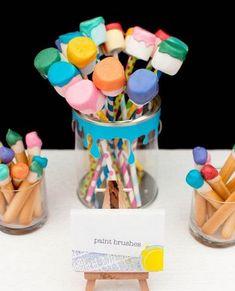 Wooloo | Une fête d'enfants sous le thème de l'art et des couleurs