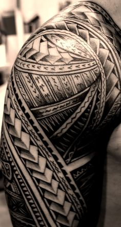 "samoan tattoo-better then those stupid ""tribal"" tattoos that people are getting these days."