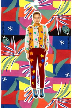 Matisse//Tata Naka // Miss Moss :: A mash up! Well done!
