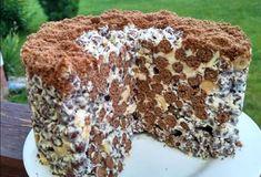 Хрустящий торт без выпечки на скорую руку