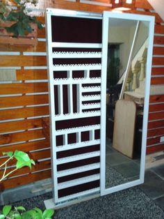 porta joias de parede com espelho - decoração porta joias de parede