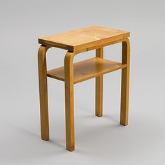 Alvar Aalto, side table, mid-century