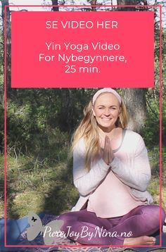 Yin Yoga For Nybegynnere, 25 min. Self Development, Personal Development, Generalized Anxiety Disorder, Yin Yoga, Yoga Videos, How To Better Yourself, Self Care, Self Help, Health Tips