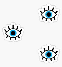 """""""magic eye trio"""" Stickers by emably Bubble Stickers, Phone Stickers, Overlay Tumblr, Realistic Eye Drawing, Eyes Wallpaper, Magic Eyes, Illustration, Aesthetic Stickers, Transparent Stickers"""