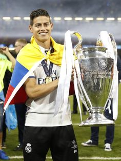 James Rodriguez Real Madrid Champions League 12 duodecima Cardiff 2017