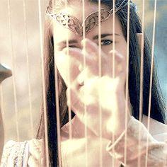 Beautiful Harp Elf in Rivendell