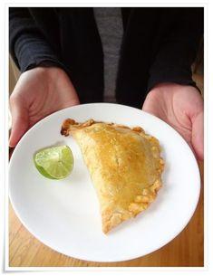 Peruvian chicken empanadas. Empanadas from a South American kitchen are a little taste of heaven.