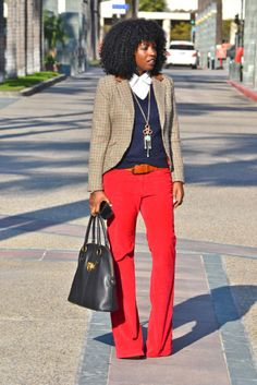 red pants---A must