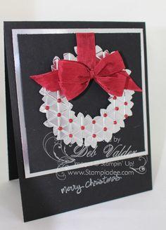 Wonderful Wreath using Tiny Triangle Folder with Deb Valder