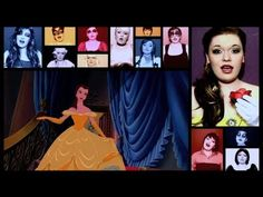 """for all the Disney Geeks out there - this girl is amazing!!!! """"One Woman A Cappella Disney Medley"""""""
