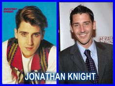 New Kids On The Block, Jon Knight...is it just me or is Jon hotter even now!