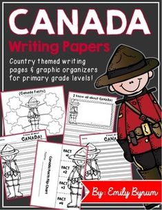 Canada Writing Pages