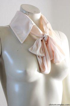 Detachable Collar Gothic Neck Piece Shirt Collar by chrisst, $55.00
