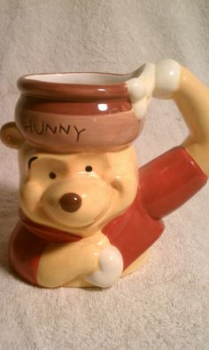 Winnie the Pooh Mug... I could drink my tea in this