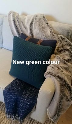 New Green, Merino Wool Blanket, Green Colors, Room Ideas, Living Room, Colors Of Green, Sitting Rooms, Drawing Room, Lounge