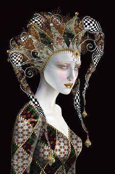 Maxine Gadd art portfolio hyper-realistic artist fairy fantasy artist