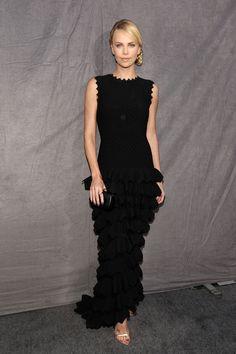Charlize Theron - Jan 2012 in Alaia
