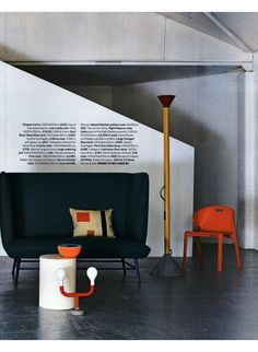 HOMES & GARDENS Spec. SPACES-01/11/2014-83447455 : Moroso - Gimme Shelter Sofa