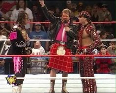 @R_Roddy_Piper 'You may as well shake hands as you're going to hate each other after this' - how right he was!