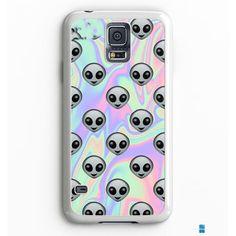 Tie Dye Alien Emoji Samsung Galaxy S7 Case Aneend