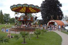 Le carrousel des fables Jardin Botanique Geneva