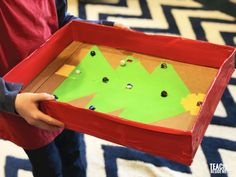 Homemade Christmas Marble Game – Teach Beside Me Christmas Games, Family Christmas, Christmas Ideas, Science Activities For Kids, Stem Activities, Marble Maze, Duct Tape, Homemade Christmas, Toy Chest