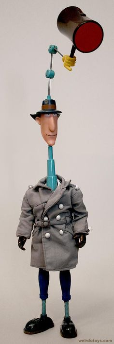 El inspector Gadget  I would love to see a wedding with gadget theme!