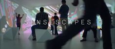 SENSESCAPES is an interactive 360° installation at the Grassi Museum For Applied Art  Leipzig.  360 projection room indoor interaction realtime immersive