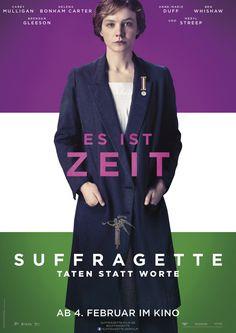 """""""Suffragette - Taten statt Worte"""" - Ab dem 04. Februar 2016 im Kino! #suffragette"""