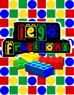 Lego Fractions {Math Game} http://www.teacherspayteachers.com/Product/Lego-Fractions-Math-Game-1410748