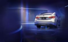 WIRELESS CHARGING CONCEPT...  Infiniti LE Concept. Pretty freaking awesome...