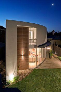 Thiang Residence, Bojan Simic Architecture - ☮k☮ - Villa Design, House Design, Residential Architecture, Amazing Architecture, Contemporary Architecture, Interior Architecture, Design Exterior, Roof Design, Unique House Plans