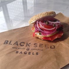 that looks like bagel perfection to me. #blackseedbagels