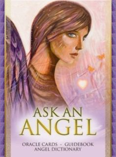 "'Ask an Angel' Oracle Cards.  Ever wished you could ask the angels questions and get clear answers in response?  Well now, using the ""Ask An Angel"" cards and guidebook, you can!    This inspirational card set, featuring the illuminating artwork of best-selling artist and author Toni Carmine Salerno, allows you to quickly  and easily receive answers to your questions and gain deeper insight into your current state of being. £14.98  www.angeliccreationsshop.net"