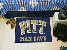 Man Cave Starter Mat - University of Pittsburgh