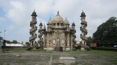 An architectural marvel at Junagad-Gujarath--Mohabhat Mukabra- a tomb and not a temple