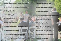 Wedding Music List - Top 20 Wedding Recessional Songs  of 2013