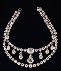 Collier de diamants de Pauline de Württemberg (c) Landesmuseum Württemberg, Stuttgart; Frankenstein / Zwietasch